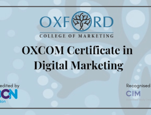 OXCOM Certificate in Digital Marketing Recognised by Chartered Institute of Marketing