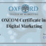 OXCOM Certificate in Digital Marketing