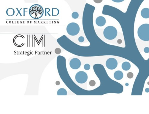 Oxford College Of Marketing Gains Official Recognition as CIM Strategic Partner