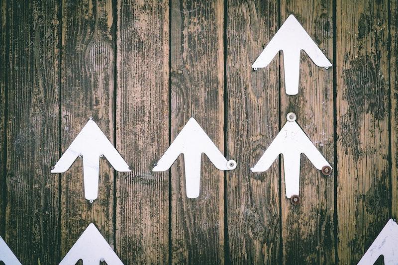 Arrows Up Continuous Improvement