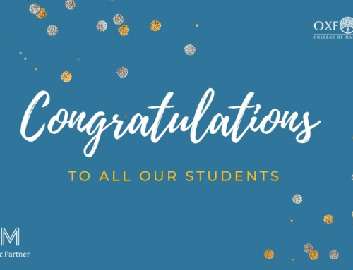 OXCOM Students Achieve 97% Pass Rate In Latest CIM Assessment Results!