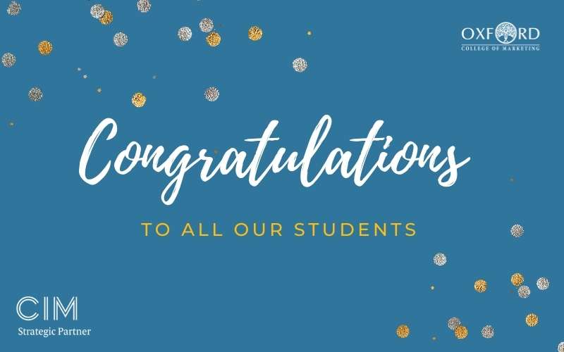CIM Results Congratulations to Students