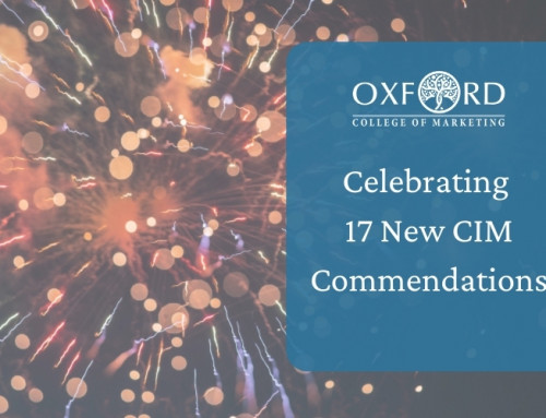 Oxford College of Marketing Gains 17 Commendations From CIM