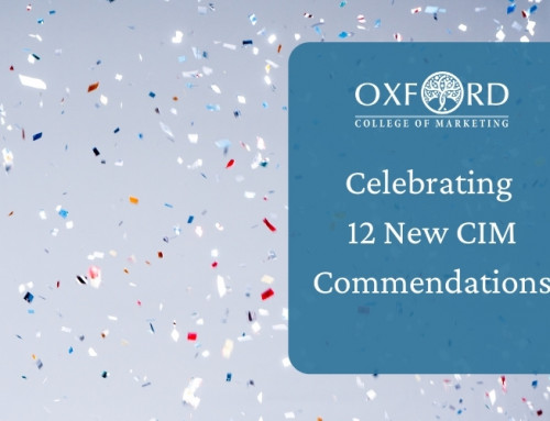 Oxford College of Marketing Gain 12 Additional Commendations From CIM