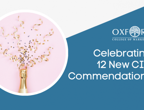Oxford College of Marketing Marks Success With 12 Additional Commendations From The CIM